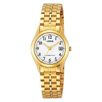 Lorus RH766AX9-wristwatch, stainless steel, color: Gold