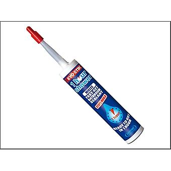 Evo-Stik 1 Hour Shower Sealant Clear 310ml