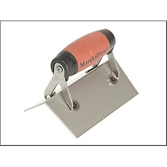Marshalltown 67SSD External Corner Trowel Square Stainless Steel DuraSoft Handle