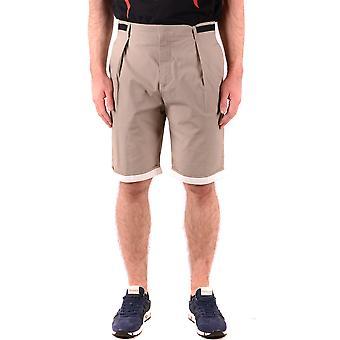 MCQ por Shorts de algodão bege de Alexander Mcqueen