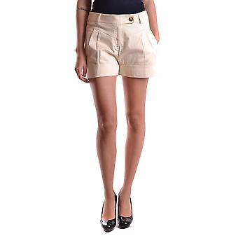 Pinko Beige Cotton Shorts