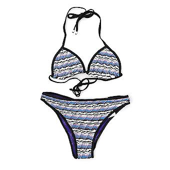 Missoni White/blue Nylon One-piece Suit