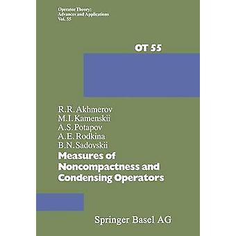 Measures of Noncompactness and Condensing Operators by Akhmerov