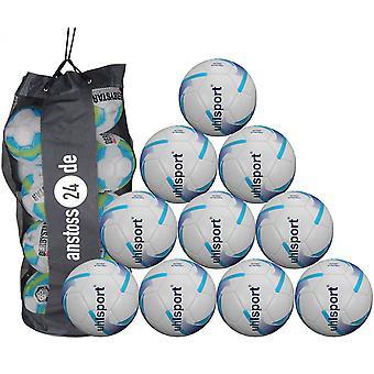 10 x jeu Uhlsport NITRO synergie et boule de formation comprend sac boule
