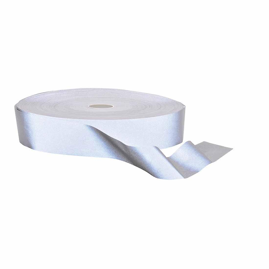 SUw - Hi-VisTex Flame Resistant Reflective Tape 100m argent Regular
