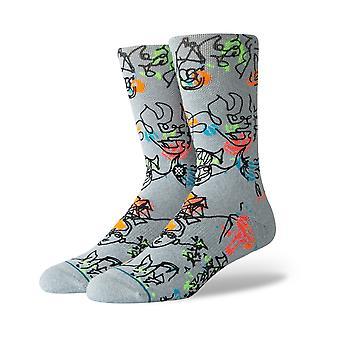 Postura diapositiva eléctrica equipo calcetines