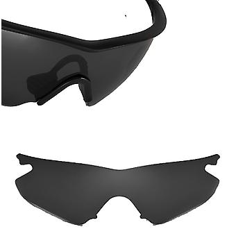 Vented M Frame Heater Asian Replacement Lens Polarized Black by SEEK fits OAKLEY