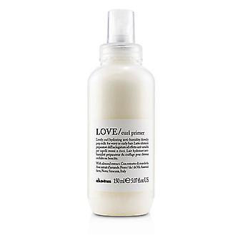 Davines kærlighed Curl primer (dejlig krølle hydrerende anti-fugtighed Blowdry prep mælk til bølget eller krøllet hår)-150ml/5.07 Oz