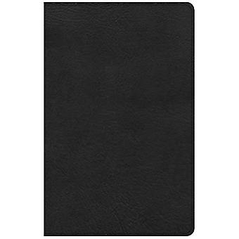 KJV Large Print Personal Size Reference Bible, Black� Leathertouch