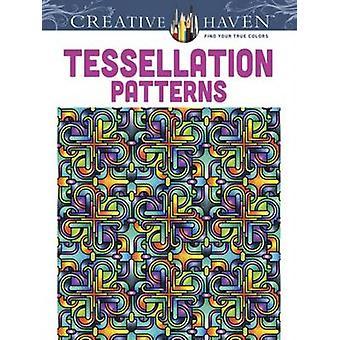 Creative Haven Tessellation Patterns Coloring Book by John Wik - Crea