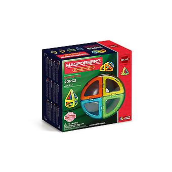 Magformers Curve 20 Set Building and Construction Toy