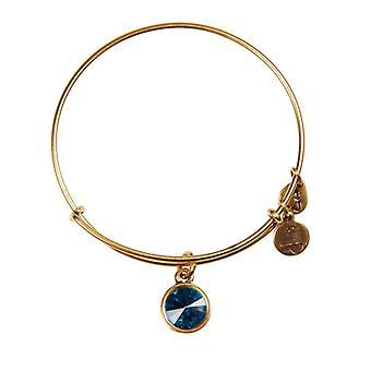 Alex et Ani décembre Birthstone or bracelet A12EB251RG