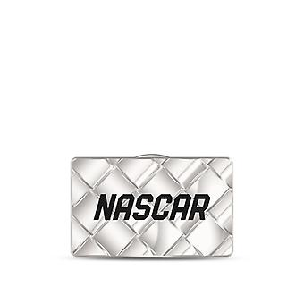 Nascar Embossed Hat Pin In Sterling Silver