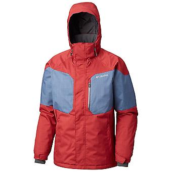Columbia Red Mens Alpine Action Jacket