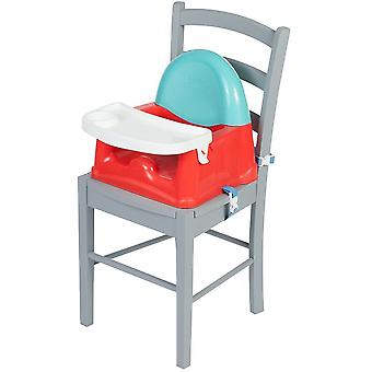 Sicurezza 1st Swing Tray Booster Seat - Linee rosse