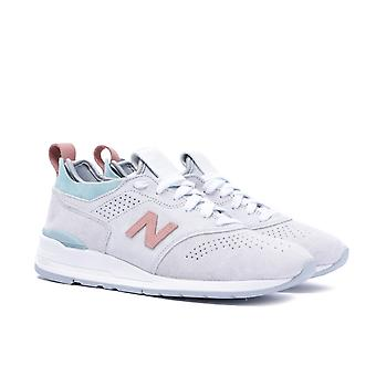 New Balance 997 Made in the USA Stone Grey Contrast Trainers