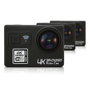 Cámara de acción multifunción ultra hd 4k wifi control remoto deportes videocámara dv dv pro cámara