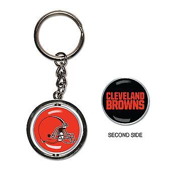 Wincraft SPINNER Keychain - NFL Cleveland Browns