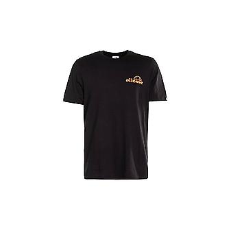 Ellesse Fondato Black Printed Cotton T-shirt