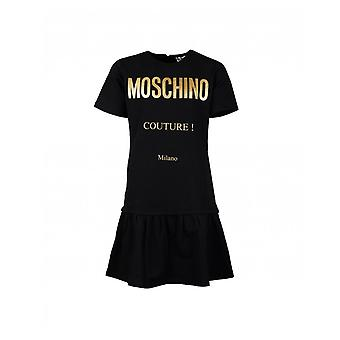 Moschino Moschino Kids Drop Waist Couture Logo Dress