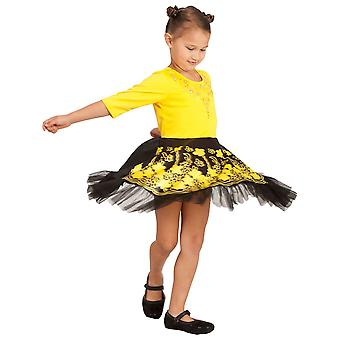 Emma Deluxe Ballerina Dress The Wiggles Yellow Book Week Toddler Girls Costume