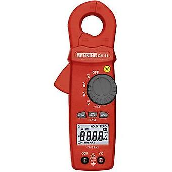 Current clamp, Handheld multimeter digital Benning BENNING CM 11 Calibrated to: Manufacturer standards CAT IV 300 V Dis
