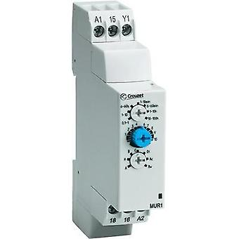 Crouzet 88827103 Time Delay Relay, Timer, IP50 (front)