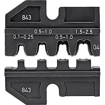 Crimp inset Non-insulated open end connectors 2.8/4.8 mm connector width 0.1 u