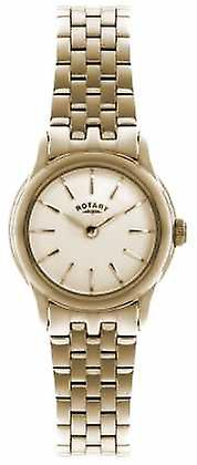 Rotary Womens Verona, Gold Plate, Champagne Dial LB02573/01 Watch
