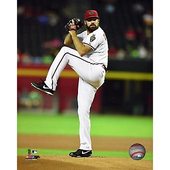 Josh Collmenter 2014 Action Photo Print