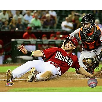 Ender Inciarte 2014 Action Photo Print