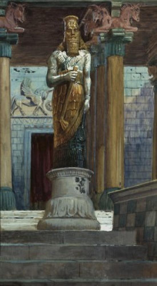 The Statue of Nebuchadnezzar James Tissot Jewish Museum nouveau York Poster Print