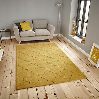 Hong Kong Rugs Hk8583 In Yellow