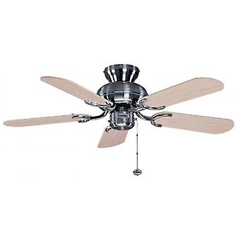 Ceiling Fan Capri stainless steel 91.4 cm / 36