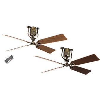 Ceiling Fan Roadhouse antique brass 152 cm / 60