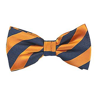 Frédéric Thomass fly microfibre Orange-blue stripes