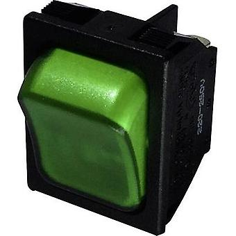 Toggle switch 250 Vac 10 A 1 x Off/On SCI R13-87B-02 latch 1 pc(s)