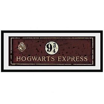 Harry Potter bild Hogwarts Express 30 x 12