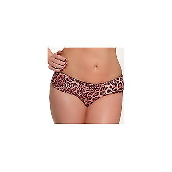 ReginaN Beha Push-up zwart/roze leopard