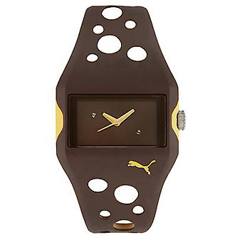 PUMA watch bracelet watch ladies active flow Brown PU900081003