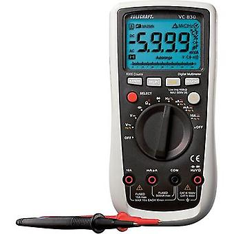 Handheld multimeter digital VOLTCRAFT VC830 Calibrated to: Manufacturer's standards (no certificate) CAT III 1000 V, CA