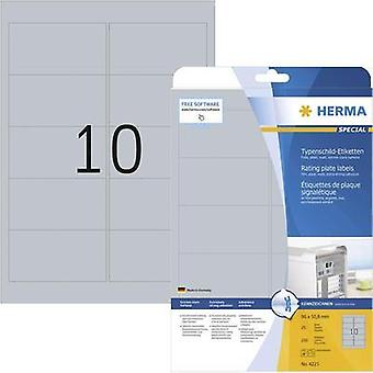 HERMA LABELS 4223 NAMEPLATE 96X50,8MM