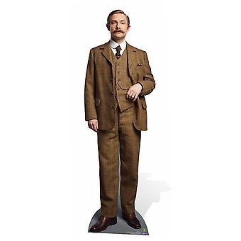 Dr. John Watson (Martin Freeman) von Sherlock Lifesize Karton Ausschnitt / AC / Standup