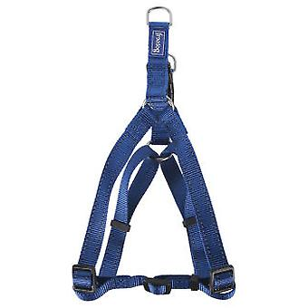 Freedog Arnés nylon reflect tipo-A Azul 10mm