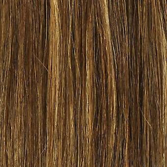 FULL HEAD of 100% Human Hair, Triple Weft, REMY Clip-in Hair Extensions #4/18
