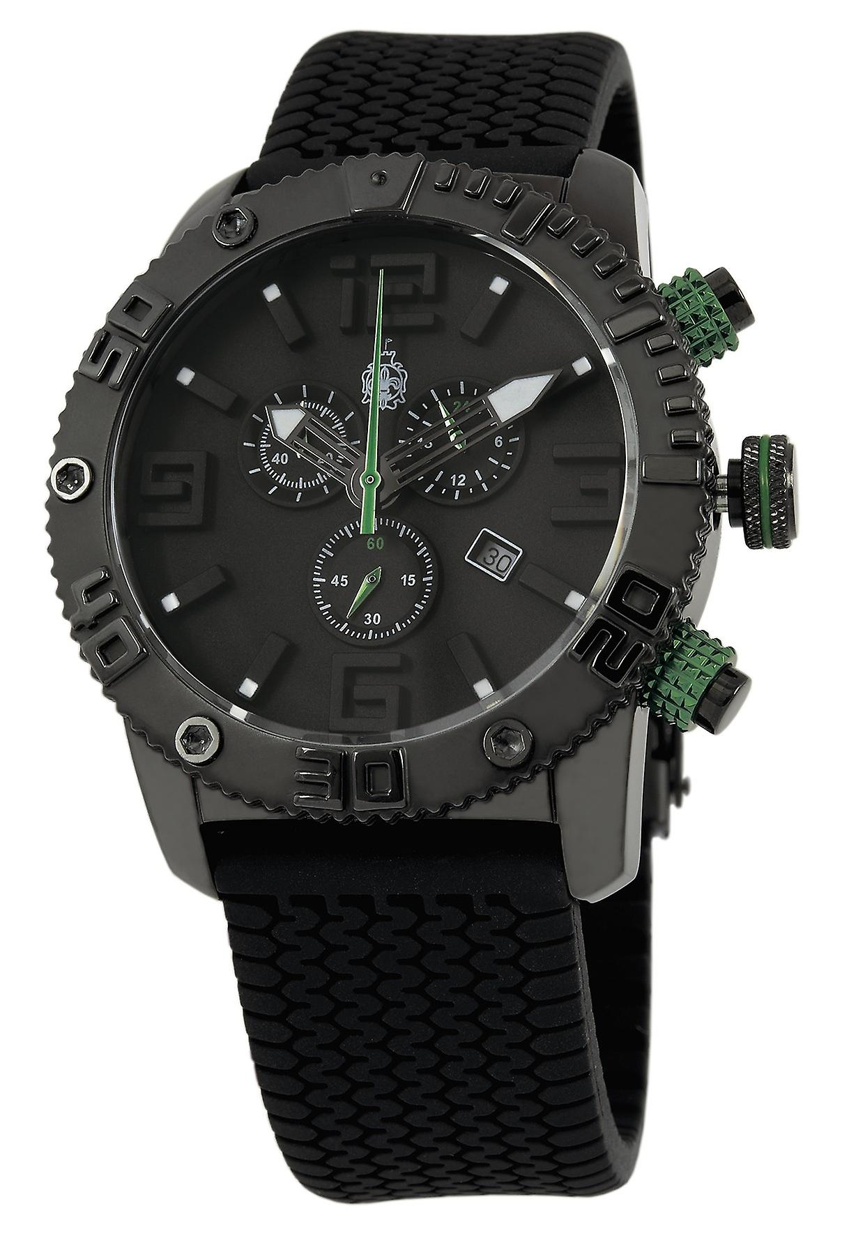 Burgmeister BLACK! Chrono Gents Chronograph BM521-622C