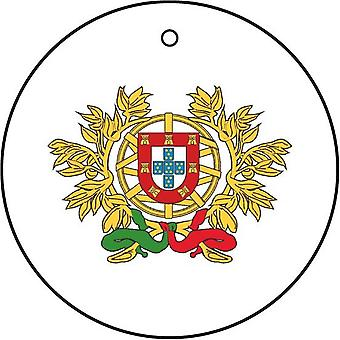 Portugal Coat Of Arms Car Air Freshener