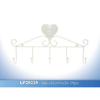 Cream Heart Hanger