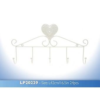 Crème hart Hanger
