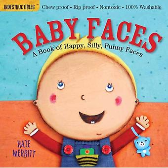 Indestructibles: Baby Faces (Paperback) by Merritt Kate Pixton Amy